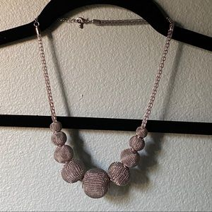 The original the limited silver mesh necklace